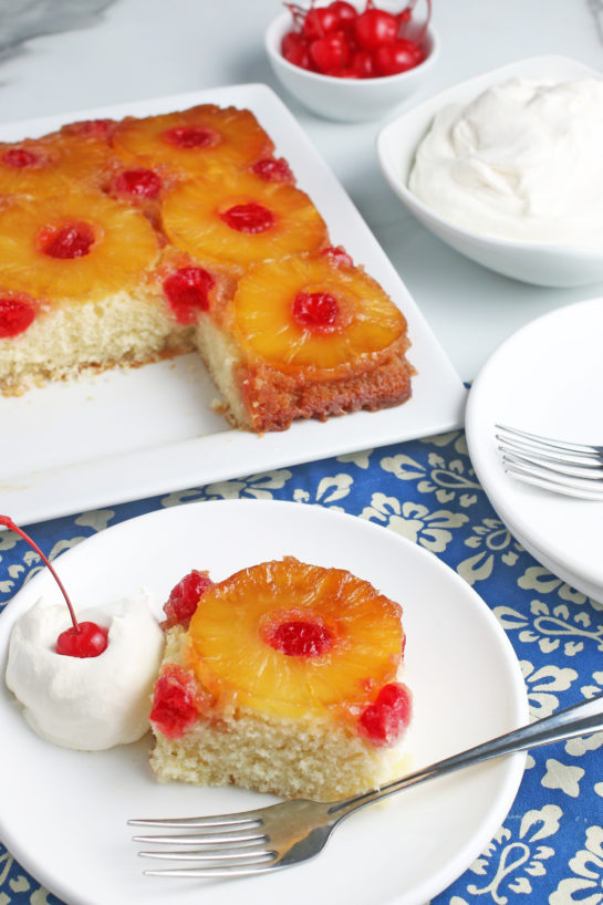 Pineapple Upside Down Cake Wishes And Dishes