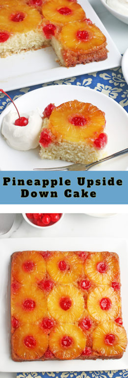 Making a pineapple upside down cake might seem intimidating but it's actually quite easy! This pineapple upside down cake recipe from scratch is delicious and easy for anyone to make. Give this upside down cake a try, you will be hooked!