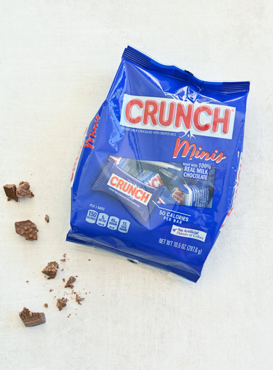 Bag of Crunch Minis about to be used in a recipe
