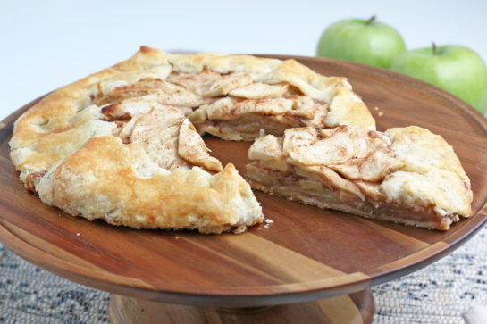 This Apple Crostata recipe is a simple, rustic tart filled with sweet apple filling and is one of our favorite new ways to enjoy those fall apples from apple picking!