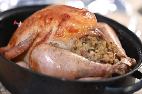 No Thanksgiving is complete without a delicious, Classic Stuffed Turkey Recipe for the Thanksgiving or Christmas!The flavor is top notch and the meat is perfectly juicy and seasoned!