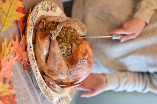 No Thanksgiving is complete without a delicious, Classic Stuffed Turkey Recipe for the holidays!The flavor is top notch and the meat is perfectly seasoned!