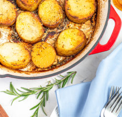 Easy weeknight Melting Potatoesrecipe might just become your new go-to side dish for Thanksgiving, Easter and Christmas!