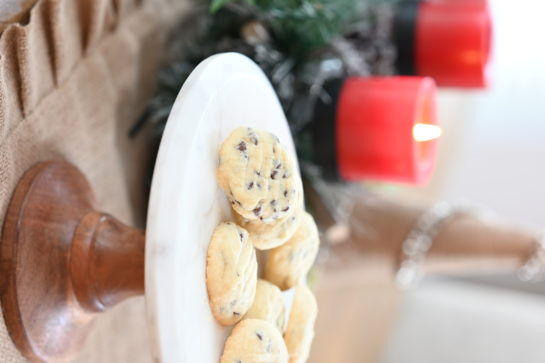 Fast and Easy Chocolate Chip Shortbread Cookies recipe are my favorite Christmas shortbread cookie recipe! These cookies areso tender, buttery and delicate! The chocolate chips are the perfect addition.