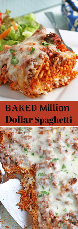 I'll show you how to make Baked Million Dollar Spaghetti casserole that everyone loves! Baked spaghetti is perfect for any weeknight or special occasion.